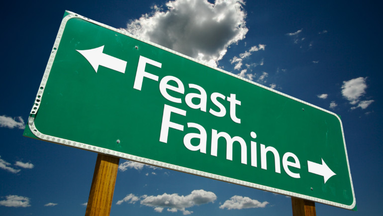 Feast or Famine: How to Deal with the Ups and Downs of Locums